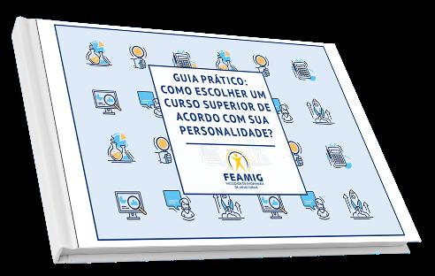Capa do E-book: como escolher um curso superior de acordo com sua personalidade