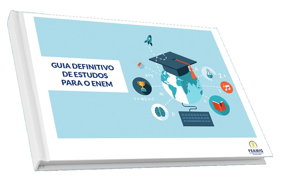 Capa do Guia definitivo de Estudos para o ENEM