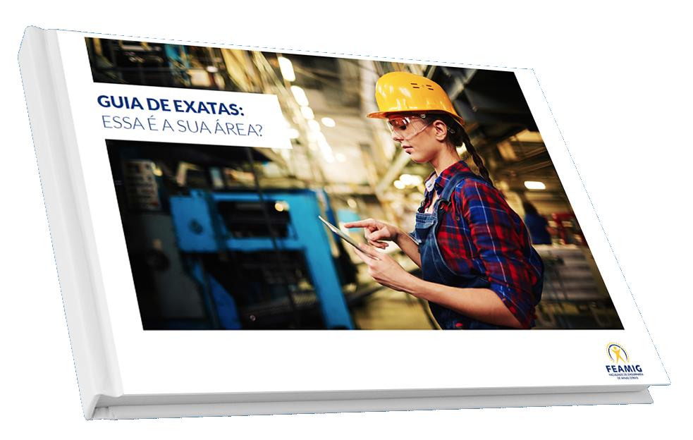 Capa E-book Guia de Exatas